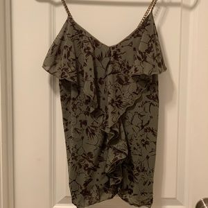 Express Tank top with metal straps
